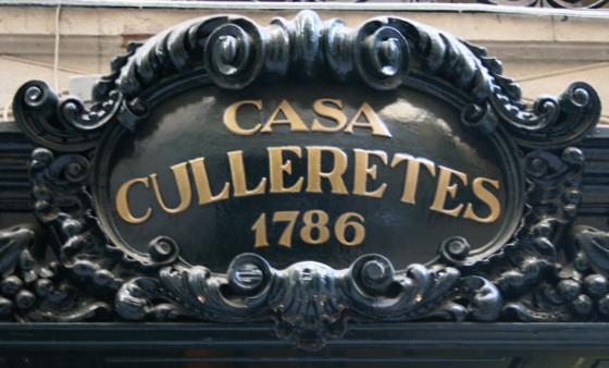 Segons el Llibre Guinness dels récords, Can Culleretes és el restaurant més antic de Catalunya.