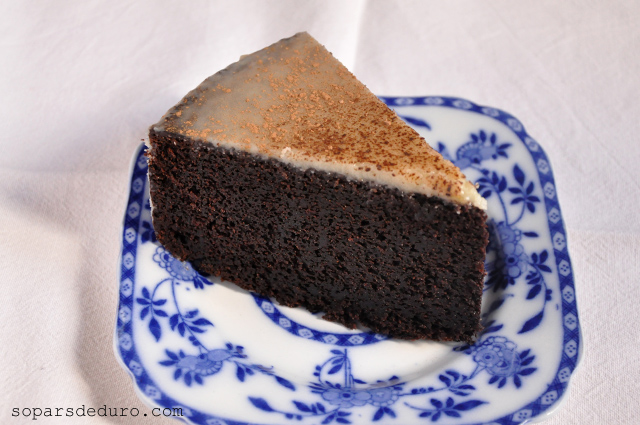 Pastís de xocolata i Guinness. Sopars de duro