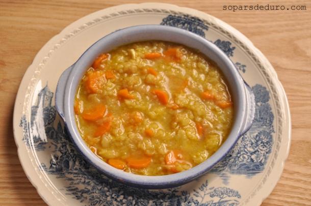 Sopa de safrà