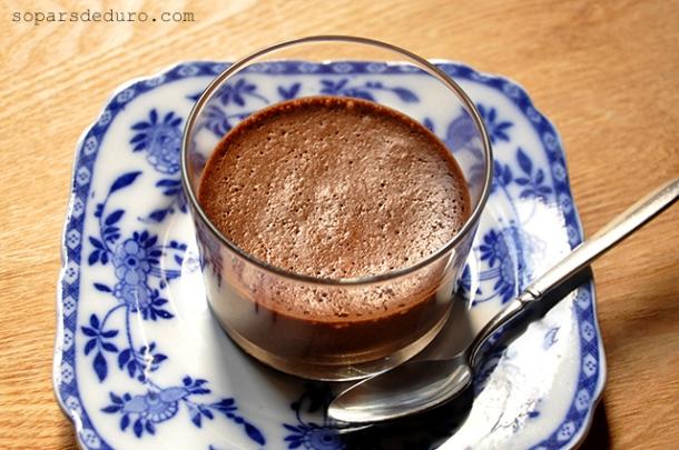 Mousse de xocolata