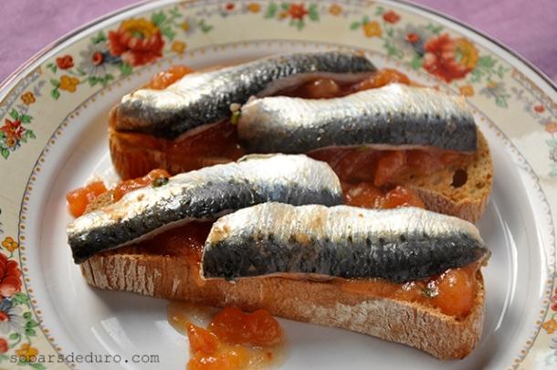 Sardines marinades