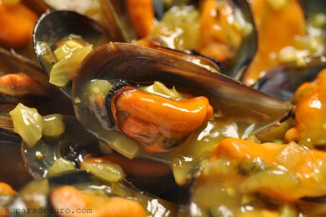 Musclos al curry